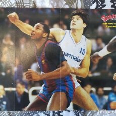 Coleccionismo deportivo: BASKET POSTERS PACK - LEYENDAS ACB 1 (5 POSTERS). Lote 238118815