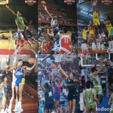 Coleccionismo deportivo: BASKET POSTERS PACK - LEYENDAS ACB 2 (12 POSTERS). Lote 238120535
