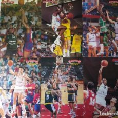 Coleccionismo deportivo: BASKET POSTERS PACK - MEJORES EXTRANJEROS HISTORIA ACB (12 POSTERS). Lote 238121845