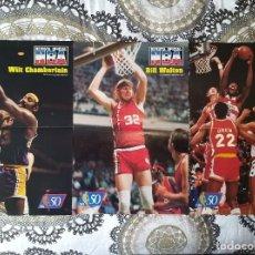 Coleccionismo deportivo: BASKET POSTERS PACK - LEYENDAS NBA DE LOS 70 (3 POSTERS). Lote 238123835