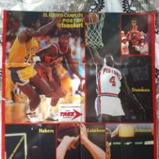 Coleccionismo deportivo: BASKET POSTERS PACK - ESPECIAL BAD BOYS, DETROIT PISTONS (5 POSTERS). Lote 238127580