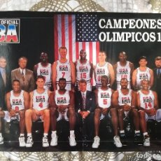 Coleccionismo deportivo: BASKET POSTERS PACK - ESPECIAL DREAM TEAM (5 POSTERS). Lote 238130235