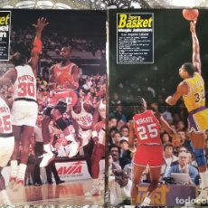 Coleccionismo deportivo: BASKET POSTERS PACK - ESPECIAL POSTERS NBA SUPER BASKET (16 UNIDADES). Lote 238285050