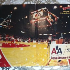 Coleccionismo deportivo: SUPER BASKET POSTERS PACK - ESPECIAL NBA ALL-STAR GAMES CLÁSICOS (12 POSTERS). Lote 238293200