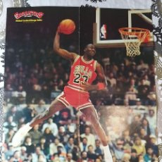 Coleccionismo deportivo: SUPER BASKET POSTERS PACK - ESPECIAL MICHAEL JORDAN (19 POSTERS). Lote 238297055