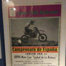 Coleccionismo deportivo: POSTER ORIGINAL AÑOS 80. Lote 243666270