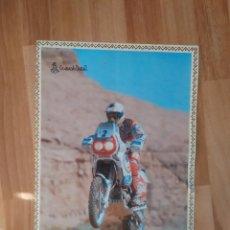Coleccionismo deportivo: CARTEL PÓSTER MOTO GRANADA DAKAR MOTOCICLISMO MATUTANO AÑOS 90 MIDE UNOS 30 X 40 CM. Lote 246122110