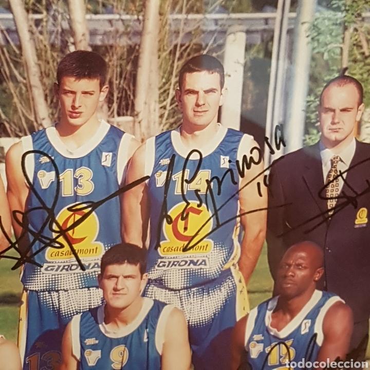 Coleccionismo deportivo: PÓSTER ENMARCADO C.B.GIRONA 99-00 FIRMADO - Foto 8 - 251985200