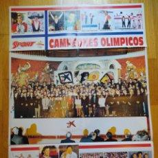 Coleccionismo deportivo: POSTER CAMPEONES OLIMPICOS BARCELONA 92.. Lote 252821655