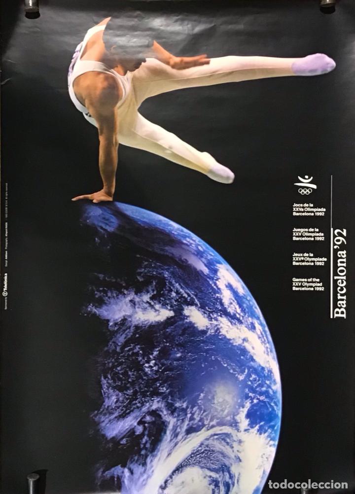 Coleccionismo deportivo: BARCELONA 92, POSTER - Foto 2 - 254683830