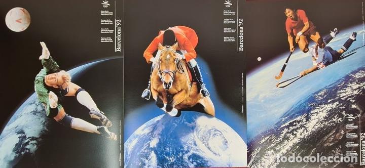 Coleccionismo deportivo: CARTELES OFICIALES DE LOS JUEGOS DE LA XXV OLIMPIADA BARCELONA 92. 1992. - Foto 5 - 254913520