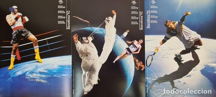 Coleccionismo deportivo: CARTELES OFICIALES DE LOS JUEGOS DE LA XXV OLIMPIADA BARCELONA 92. 1992. - Foto 7 - 254913520