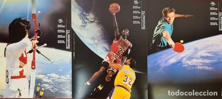 Coleccionismo deportivo: CARTELES OFICIALES DE LOS JUEGOS DE LA XXV OLIMPIADA BARCELONA 92. 1992. - Foto 9 - 254913520