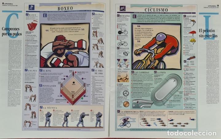 Coleccionismo deportivo: CARTELES OFICIALES DE LOS JUEGOS DE LA XXV OLIMPIADA BARCELONA 92. 1992. - Foto 14 - 254913520