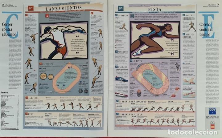 Coleccionismo deportivo: CARTELES OFICIALES DE LOS JUEGOS DE LA XXV OLIMPIADA BARCELONA 92. 1992. - Foto 15 - 254913520