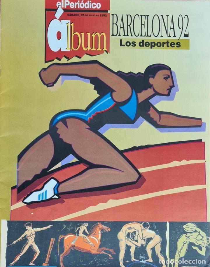 Coleccionismo deportivo: CARTELES OFICIALES DE LOS JUEGOS DE LA XXV OLIMPIADA BARCELONA 92. 1992. - Foto 16 - 254913520