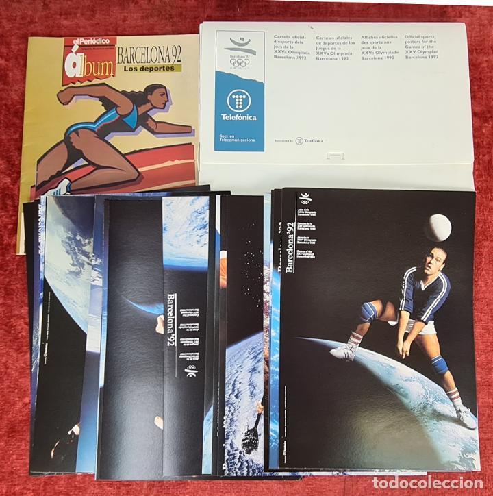 CARTELES OFICIALES DE LOS JUEGOS DE LA XXV OLIMPIADA BARCELONA 92. 1992. (Coleccionismo Deportivo - Carteles otros Deportes)