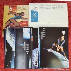 Coleccionismo deportivo: CARTELES OFICIALES DE LOS JUEGOS DE LA XXV OLIMPIADA BARCELONA 92. 1992.. Lote 254913520