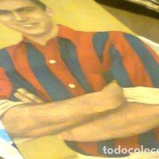 Coleccionismo deportivo: POSTER REV EL GRAFICO SAN LORENZO RUBEN CAVADINI RETRO KXZ. Lote 255281710