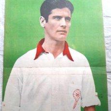Coleccionismo deportivo: POSTER ORIGINAL DE REVISTA EL GRAFICO GALATEO HURACAN. Lote 255282250
