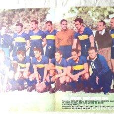 Coleccionismo deportivo: POSTER BOCA JUNIORS SUBCAMPEON 1945 HISTORIA PROFESIONALISMO. Lote 255282675