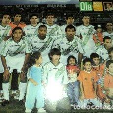 Coleccionismo deportivo: POSTER DE BANFIELD TORNEO CLAUSURA 2005 OLE. Lote 255283500