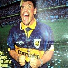 Coleccionismo deportivo: MARADONA POSTER DE EL GRAFICO 1995. Lote 255284365
