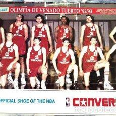 Coleccionismo deportivo: LOTE 4 POSTERS OLIMPIA DE VENADO TUERTO. Lote 255286340