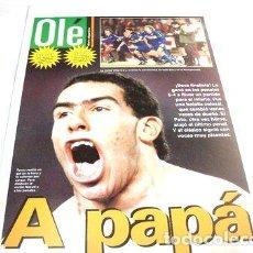 Coleccionismo deportivo: POSTER BOCA FINALISTA VS RIVER LIBER 2004. Lote 255287240