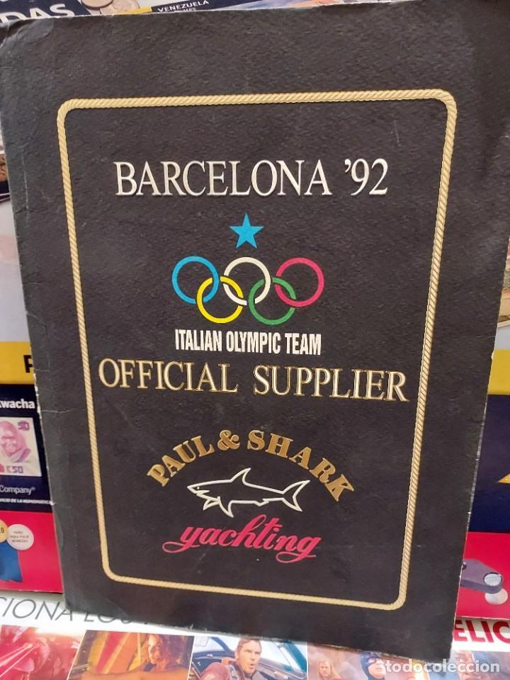 CARPETA CON 8 LAMINAS BARCELONA ' 92... (Coleccionismo Deportivo - Carteles otros Deportes)