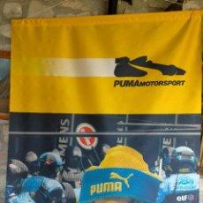 Coleccionismo deportivo: CARTEL O POSTER PUBLICITARIO Y BANDERA DE F1 FORMULA 1 PUMAMOTORSPORT HYUNDAI #HMSGOFFICIAL DE TELA. Lote 264985159