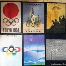 Coleccionismo deportivo: CARTELES OLIMPIADAS - JUEGOS OLIMPICOS. Lote 265519119