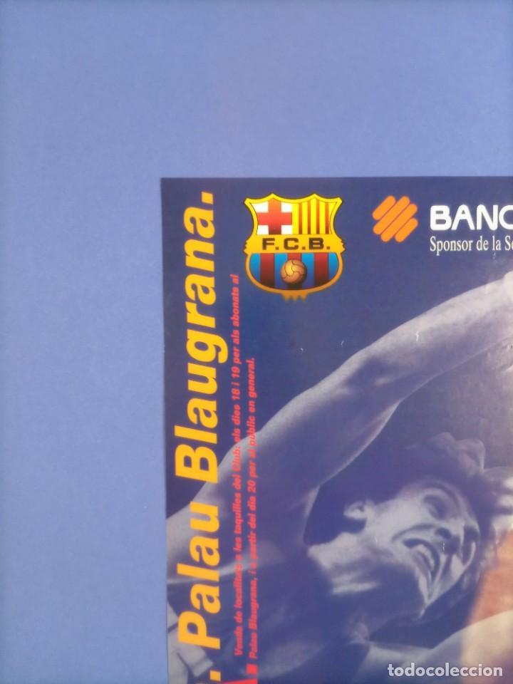 Coleccionismo deportivo: CARTEL BALONCESTO - HOMENAJE SUPER EPI - F.C. BARCELONA - SELECCION FIBA - Foto 2 - 267640419