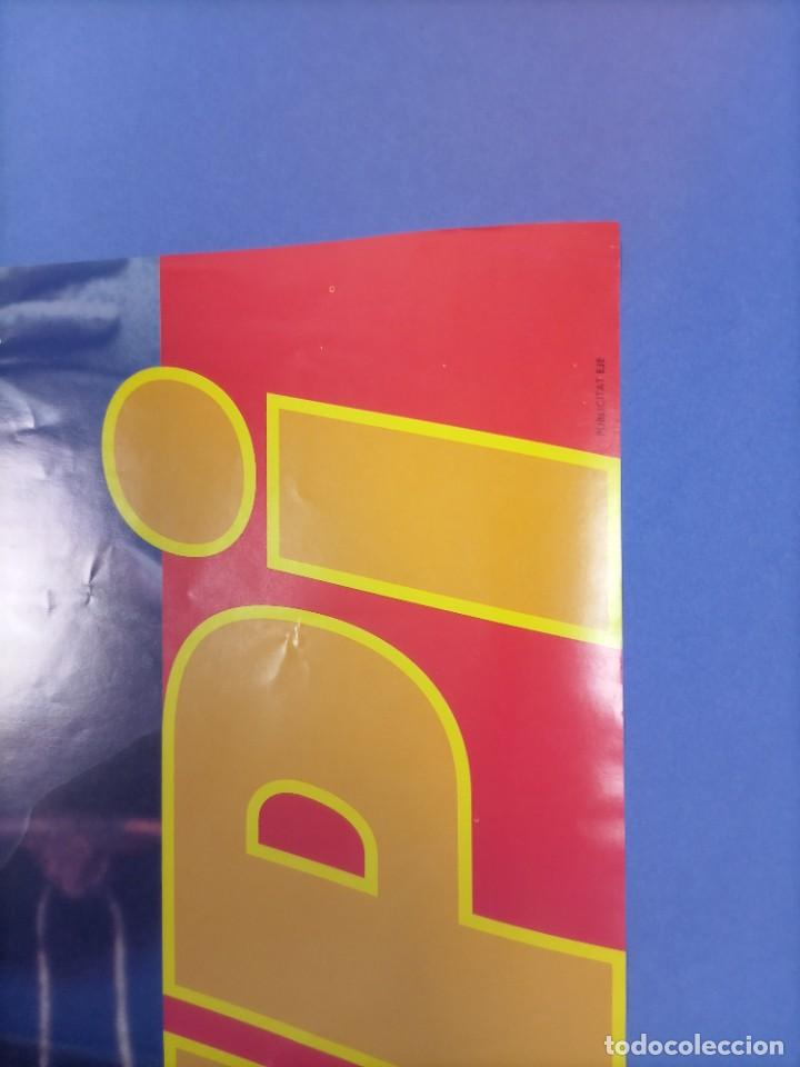 Coleccionismo deportivo: CARTEL BALONCESTO - HOMENAJE SUPER EPI - F.C. BARCELONA - SELECCION FIBA - Foto 3 - 267640419
