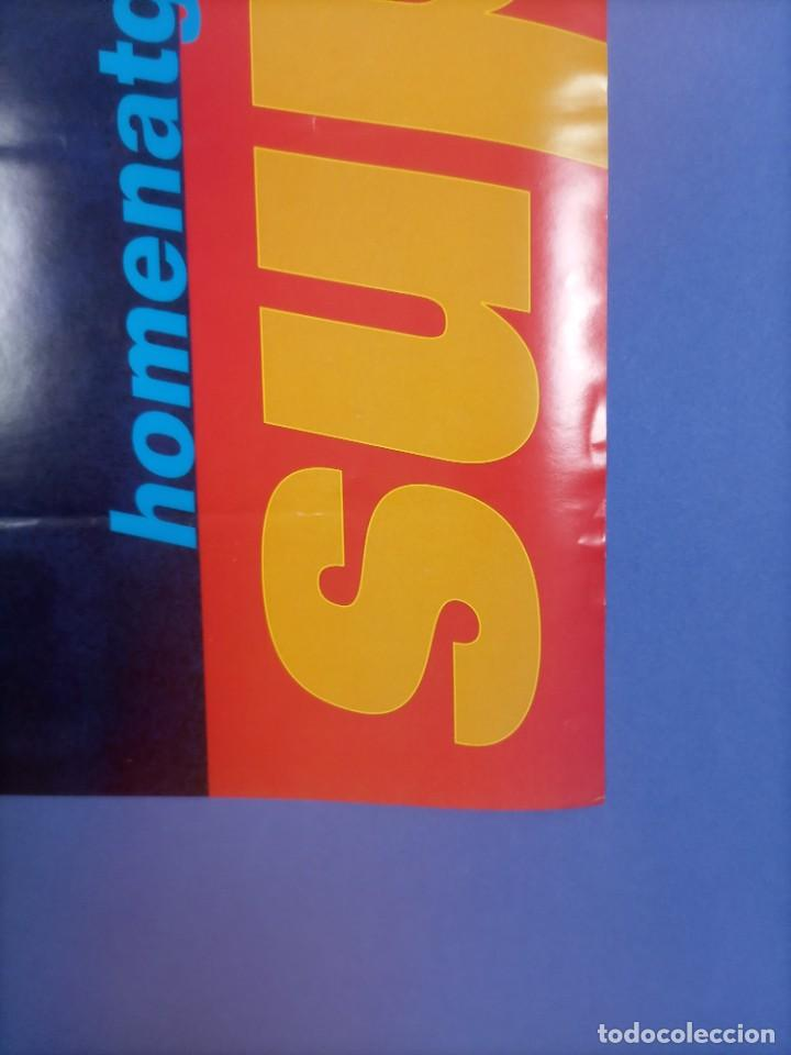 Coleccionismo deportivo: CARTEL BALONCESTO - HOMENAJE SUPER EPI - F.C. BARCELONA - SELECCION FIBA - Foto 4 - 267640419