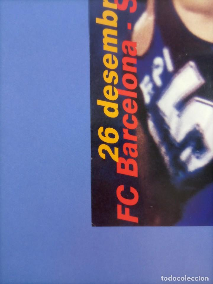 Coleccionismo deportivo: CARTEL BALONCESTO - HOMENAJE SUPER EPI - F.C. BARCELONA - SELECCION FIBA - Foto 5 - 267640419