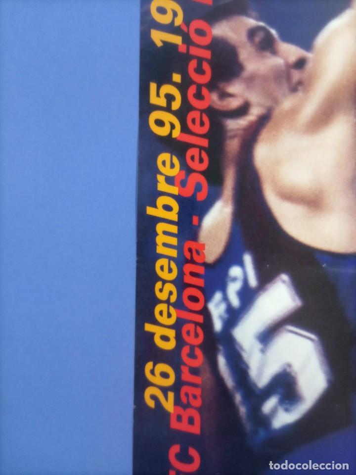 Coleccionismo deportivo: CARTEL BALONCESTO - HOMENAJE SUPER EPI - F.C. BARCELONA - SELECCION FIBA - Foto 6 - 267640419