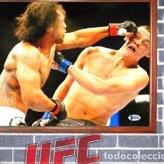 Coleccionismo deportivo: UFC BENSON HENDERSON FOTO FIRMADA EN CUADRO PARA COLGAR. Lote 268100084