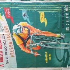 Coleccionismo deportivo: CARTEL CICLISMO : VUELTA A LEVANTE.. Lote 269249268