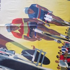 Coleccionismo deportivo: CARTEL CICLISMO : VUELTA CICLISTA A ESPAÑA 1959. Lote 269252268
