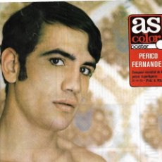 Coleccionismo deportivo: BOXEO: GRAN PÓSTER DE PERICO FERNÁNDEZ. 1974. Lote 270895998