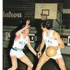 Coleccionismo deportivo: REAL MADRID BALONCESTO ( BASKET ): RECORTE DE WAYNE BRABENDER Y WALTER SZCZERBIAK. 1975ERBIACK. Lote 277843968