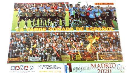POSTERS DEPORTIVO ESPANOL LOTE DE 3 (Coleccionismo Deportivo - Carteles otros Deportes)