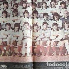 Coleccionismo deportivo: POSTER ALL BOYS ANO 1986 DE LA REVISTA SOLO FUTBOL ED. 198. Lote 278910433