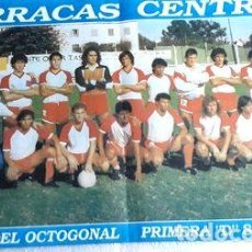 Coleccionismo deportivo: POSTERS BARRACAS CENTRAL LOTE DE 5. Lote 278911123
