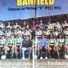Coleccionismo deportivo: POSTERS BANFIELD LOTE DE 4 LAMINAS. Lote 278912533
