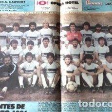 Coleccionismo deportivo: POSTER ESTUDIANTES DE RIO CUARTO 1986. Lote 278914903