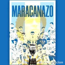 Coleccionismo deportivo: POSTER MARACANAZO 50X35 ARGENTINA CAMPEON DE AMERICA 2021. Lote 278916193