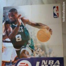 Coleccionismo deportivo: CARTEL. ORIGINAL, NBA LIVE 99. MEDIDAS. 85 X 68CTMS.. Lote 286752613