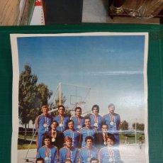 Coleccionismo deportivo: SELECCIÓN ESPAÑOLA BALONCESTO CAMPEONATO MUNDO SUBCAMPEÓN 21X33. Lote 287778838